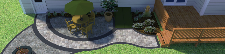 Green Boys Landscapes designers can create any landscaping project you dream of using 3D CAD software.